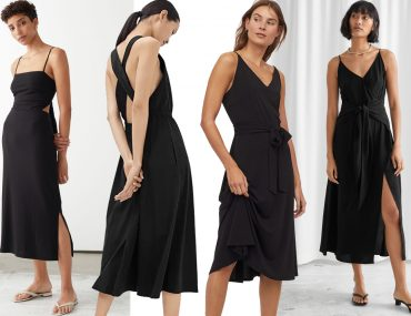 black summer dresses 2020