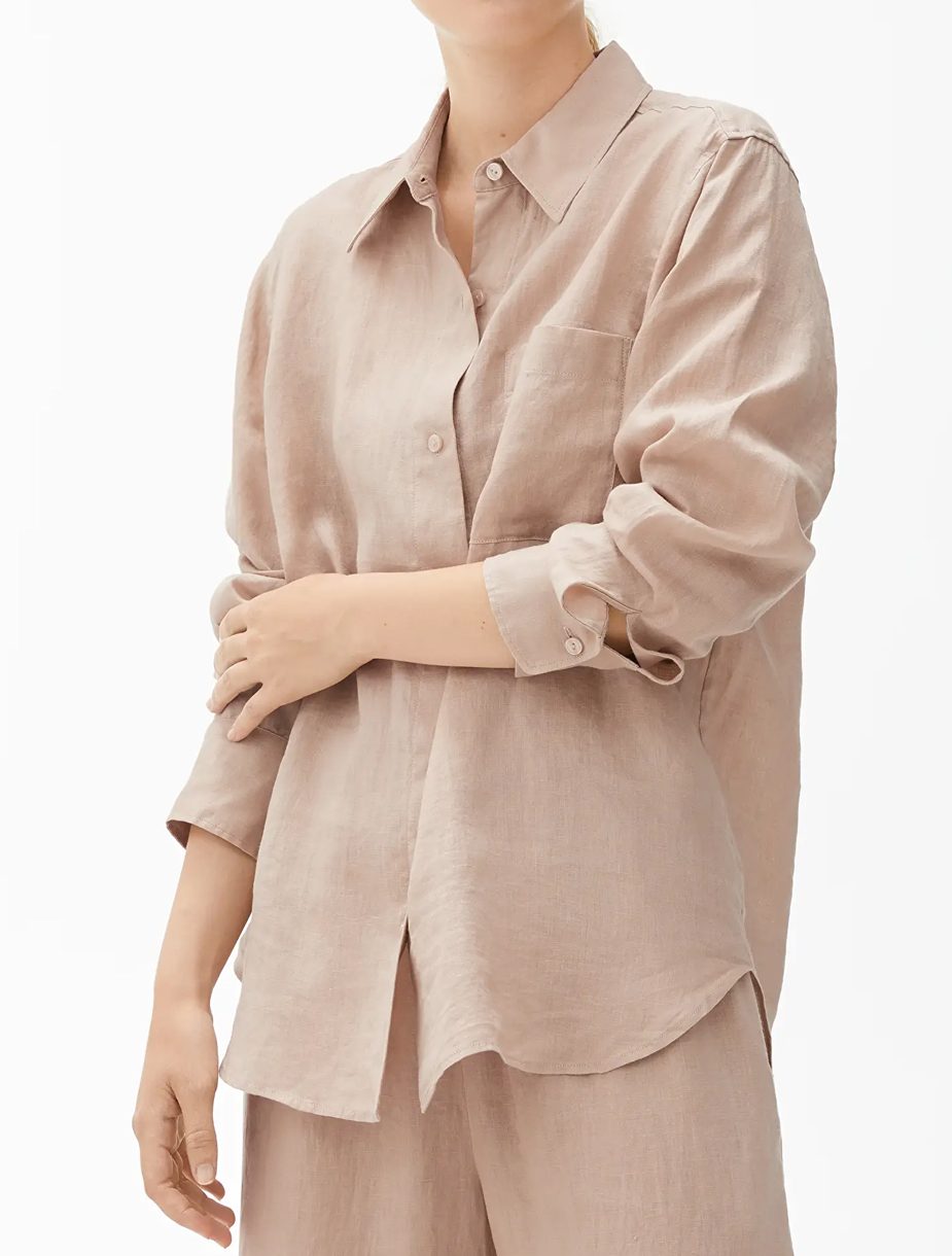 linen shirt woman