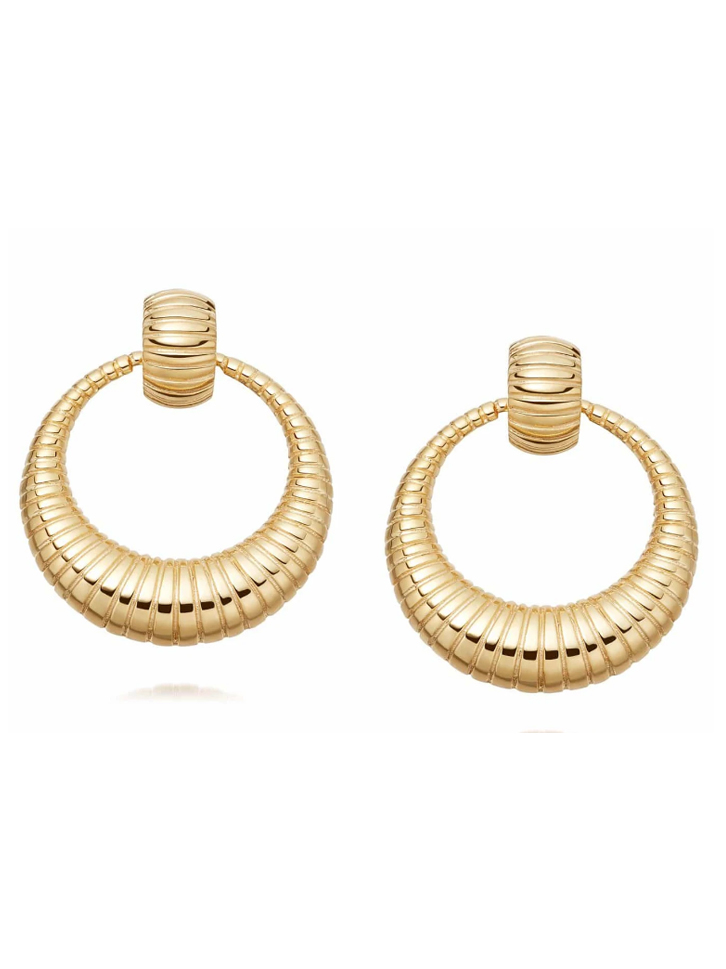 daisy london hoop earrings