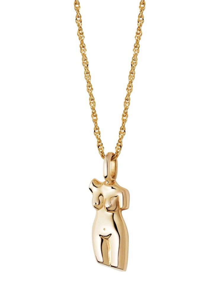female body necklace