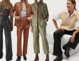 leather trousers women