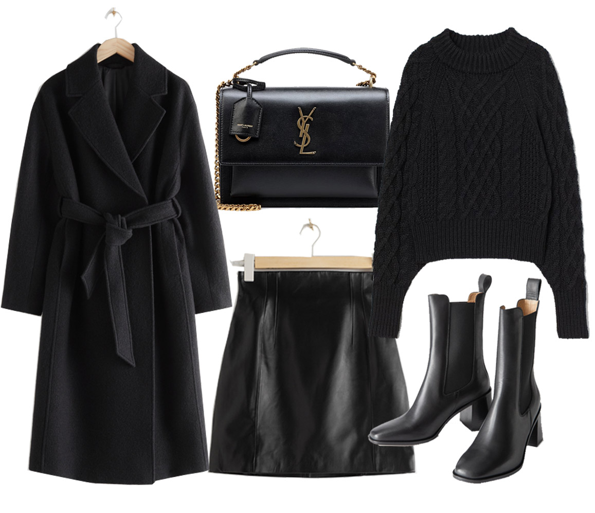 total black outfit ideas