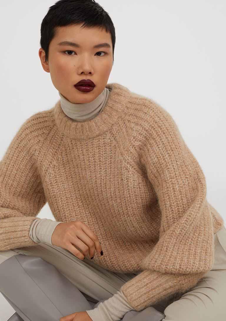 alpaca blend jumper h&M