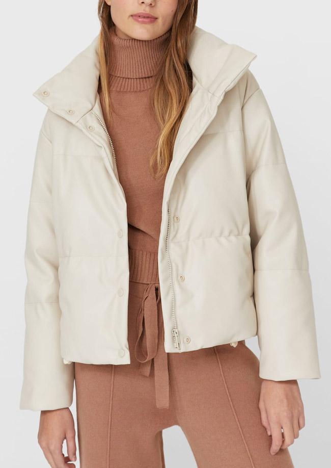 white puffer jacket women