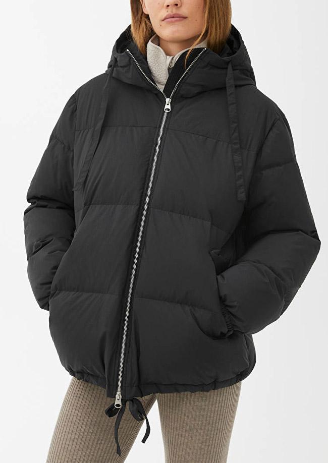 arket puffer jacket