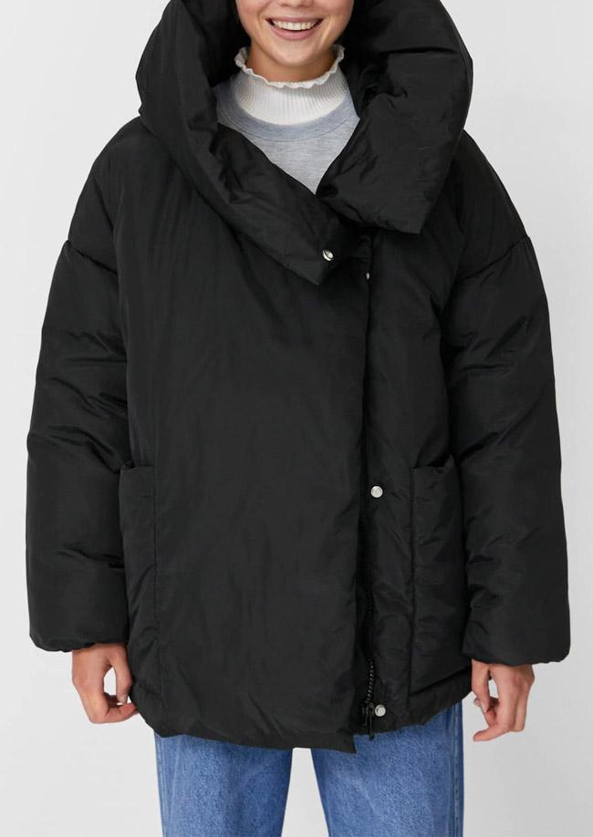 black puffer jacket womens