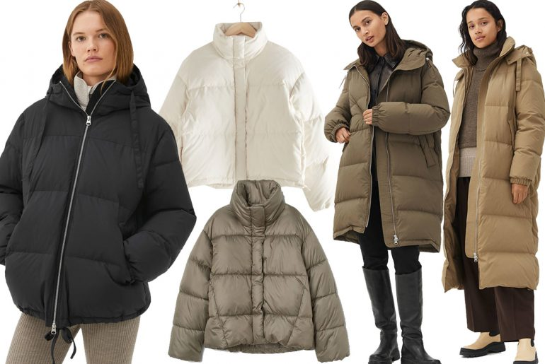 puffer jackets and coats for winter 2020