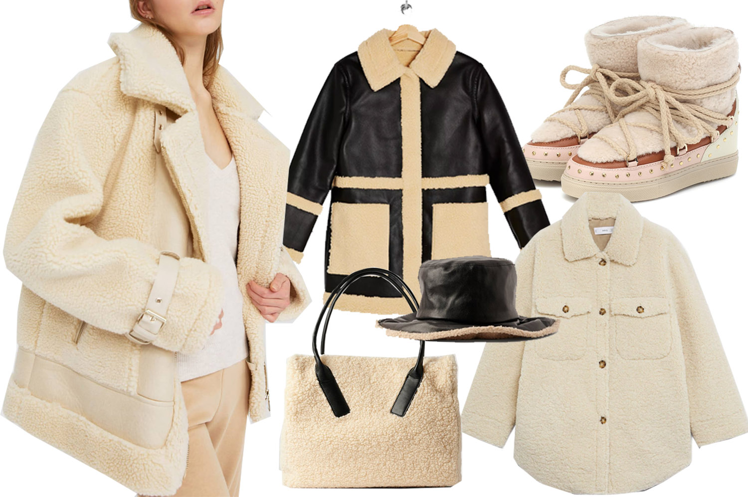 21 Shearling Pieces to Add to Your Winter Wardrobe