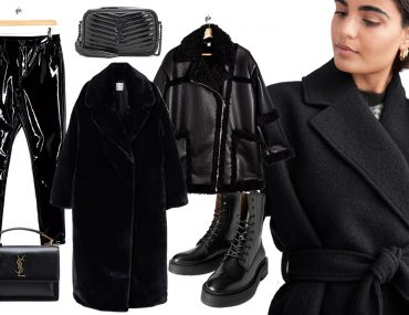 black outfit styling ideas