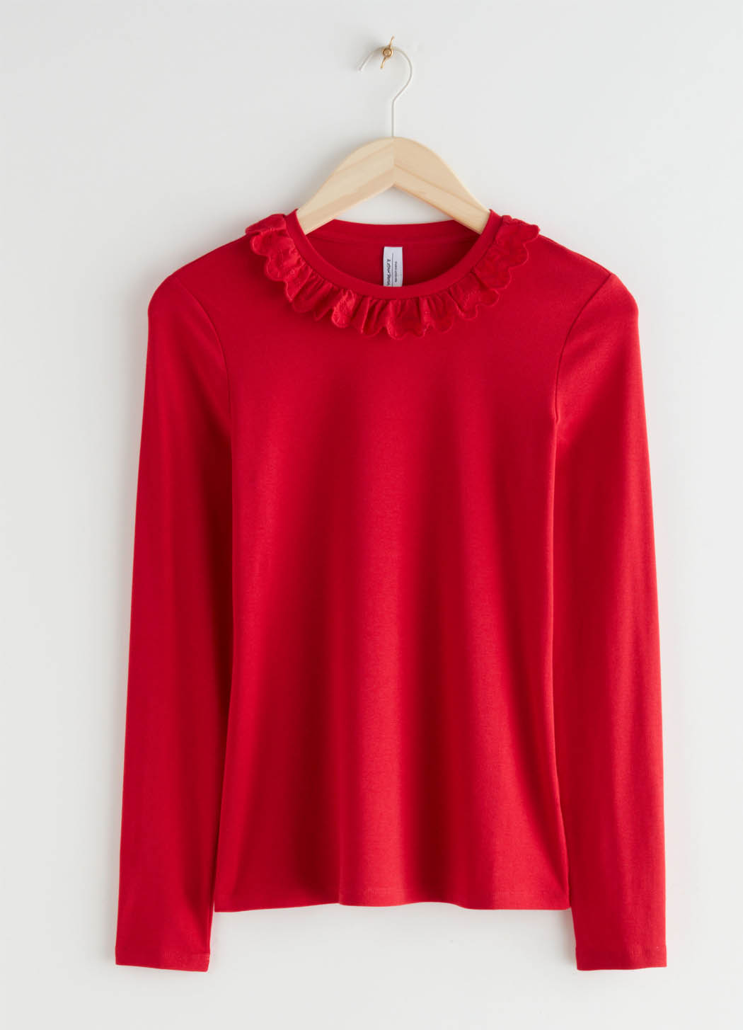red collar top &otherstories