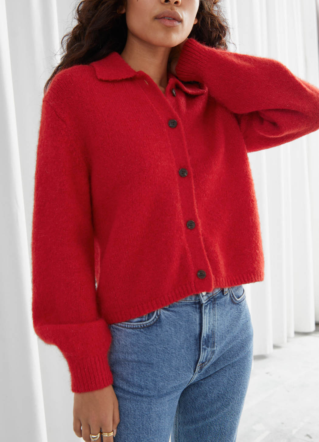 red cardigan &otherstories