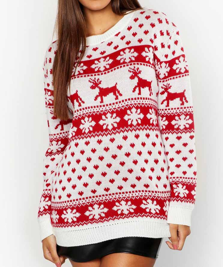 boohoo christmas jumper