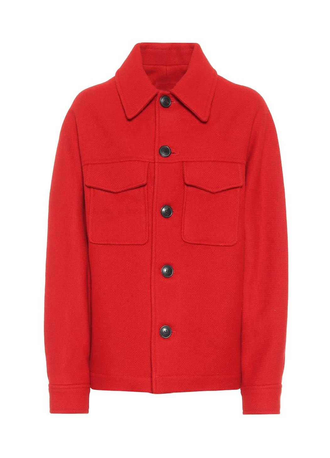 red jacket ami paris