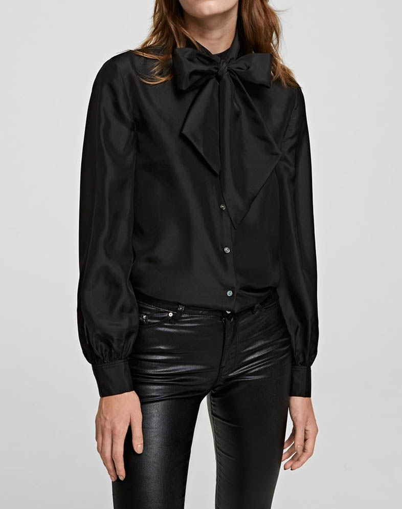 karl lagerfeld silk shirt