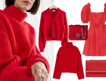 top red clothing to wear in festive season