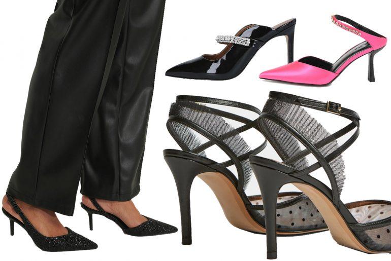 top glitter heels for party season
