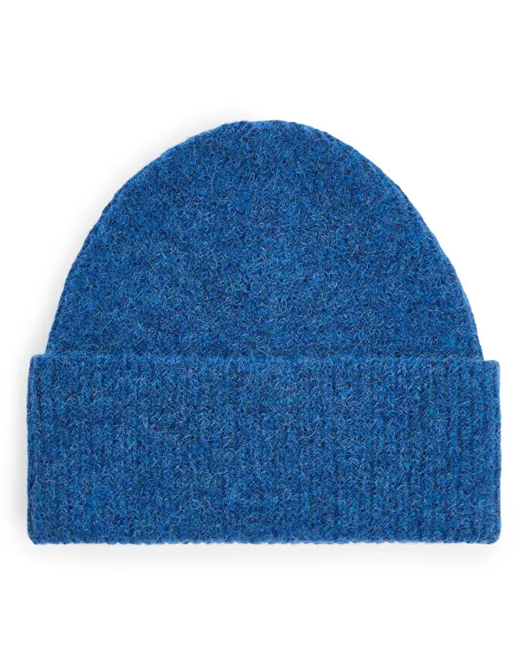 royal blue beanie hat women