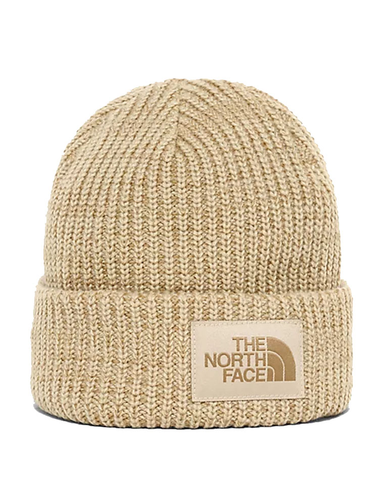 the north face beige beanie hat