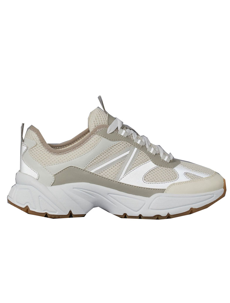 white chunky trainers h&m