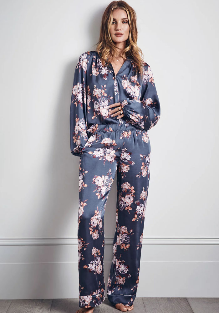 m&s satin pyjama rosie