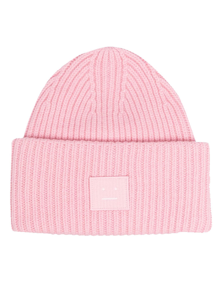 pink acne hat