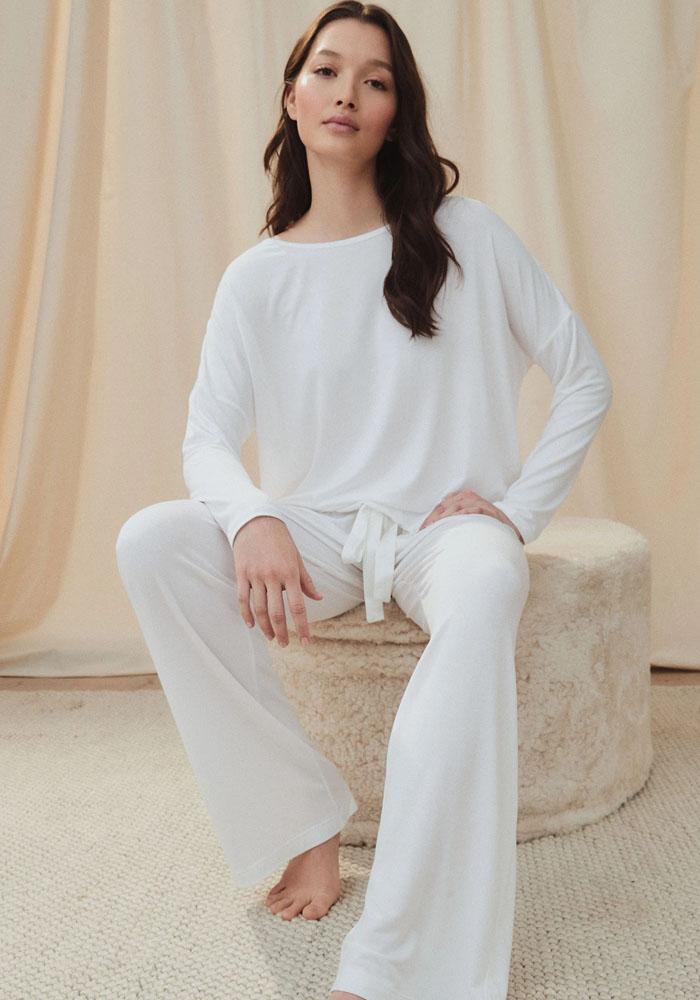 white pyjama the white company