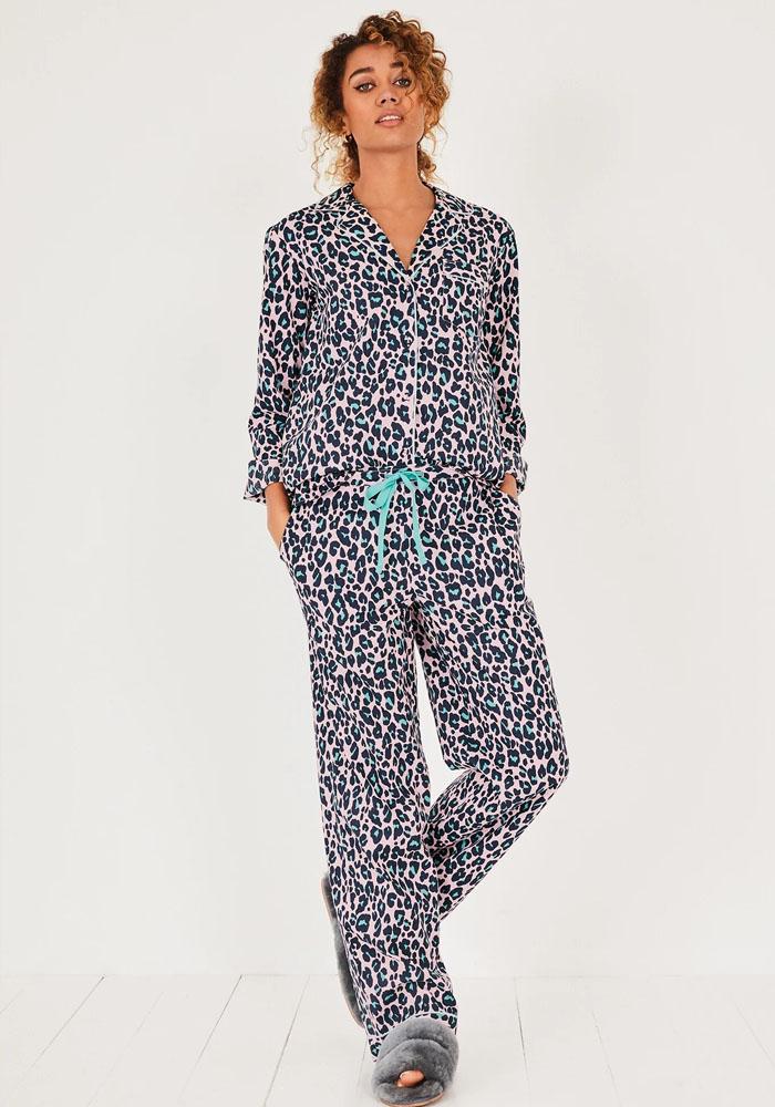hush leopard print pyjama