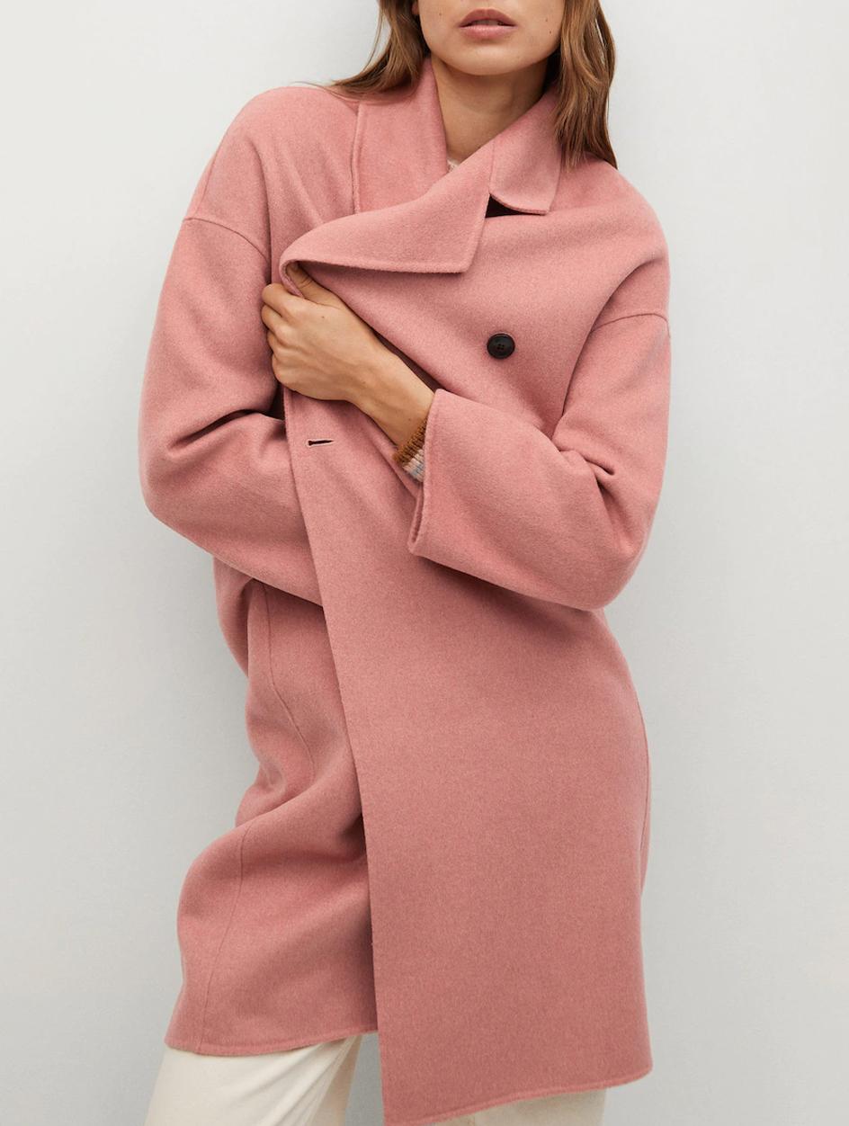 pink coat mango