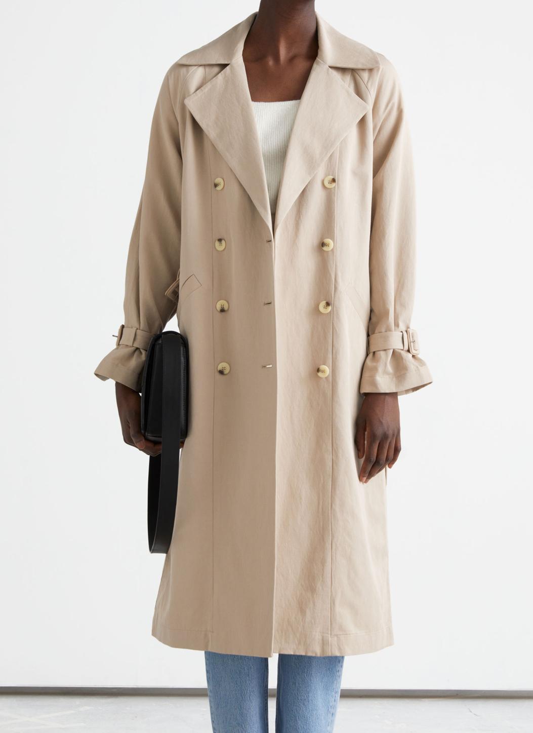 beige trench coat 2021