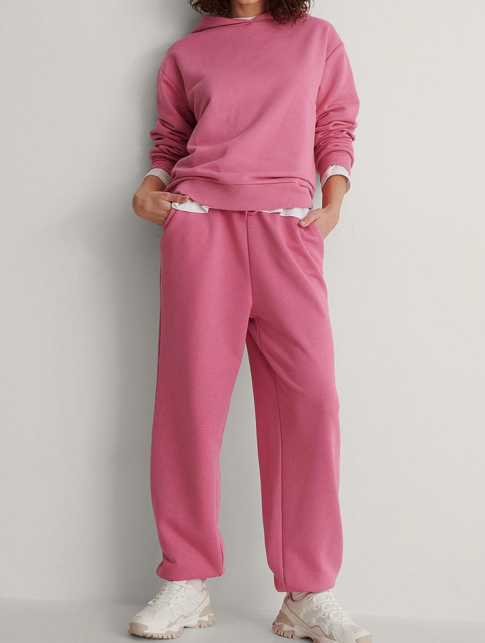 pink loungwear set