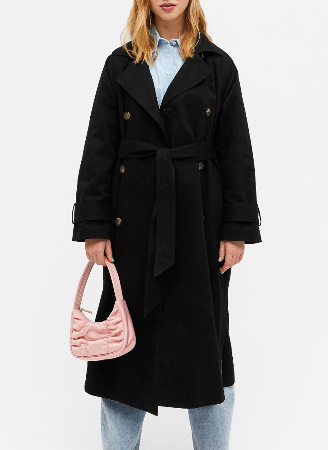 black classic trench coat monki