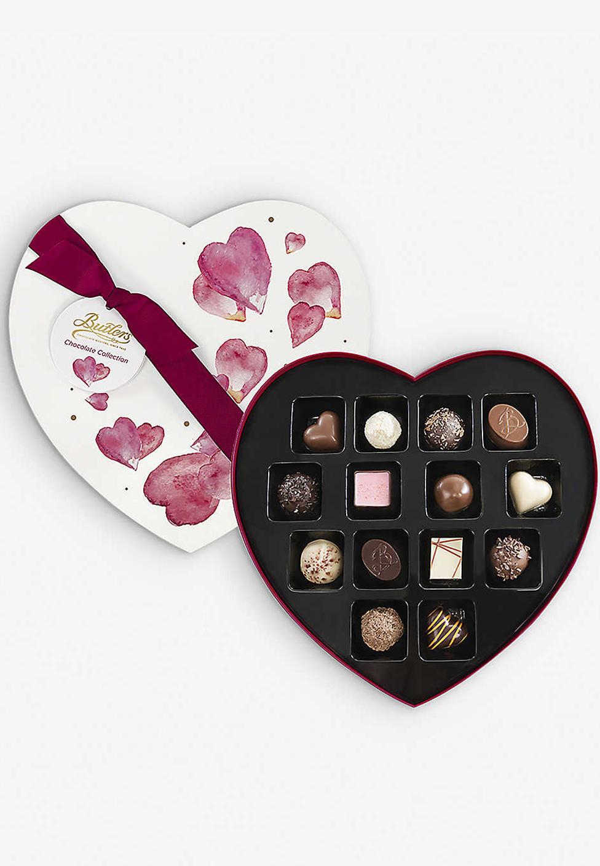 BUTLERS Indulgent Heart assorted chocolates box of 14