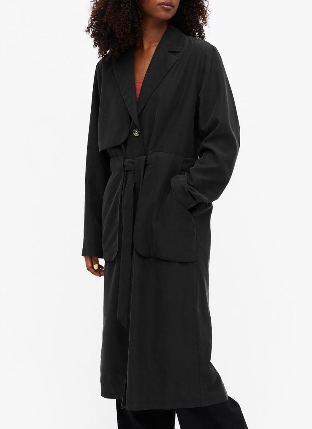 black trench coat monki