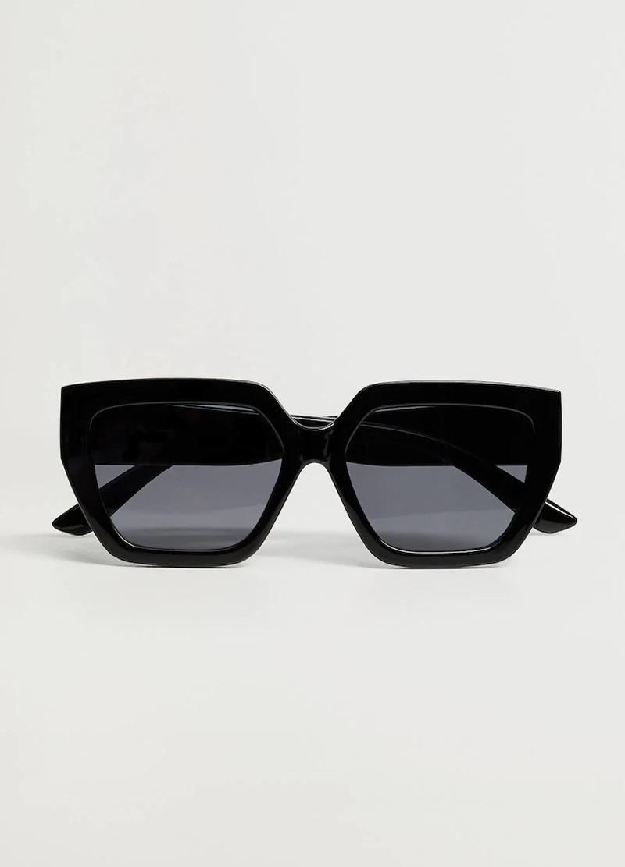 black sunglasses mango