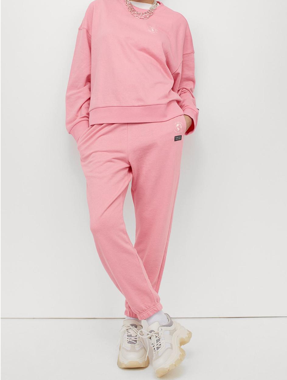 pink tracksuit h&M
