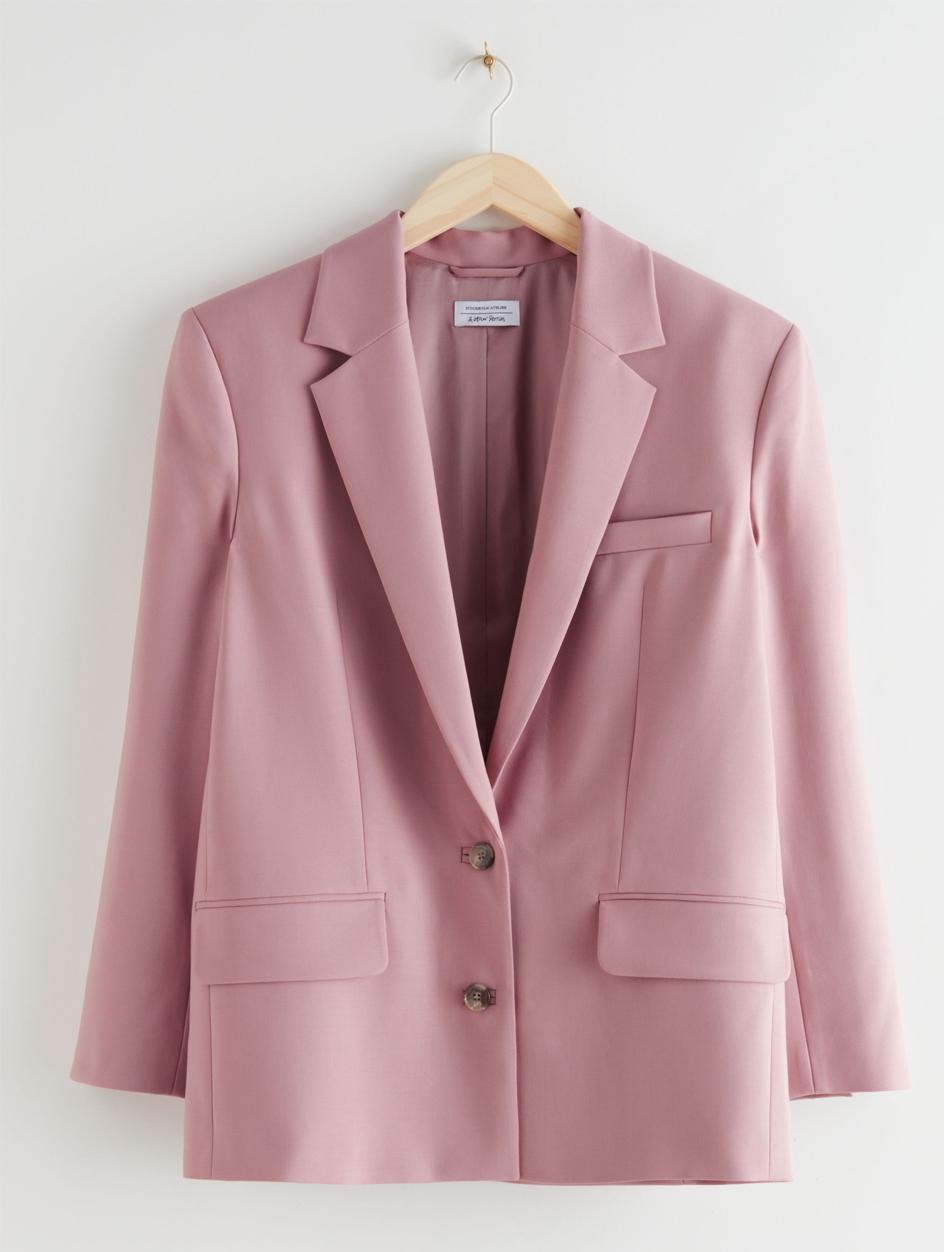 pink blazer &otherstories