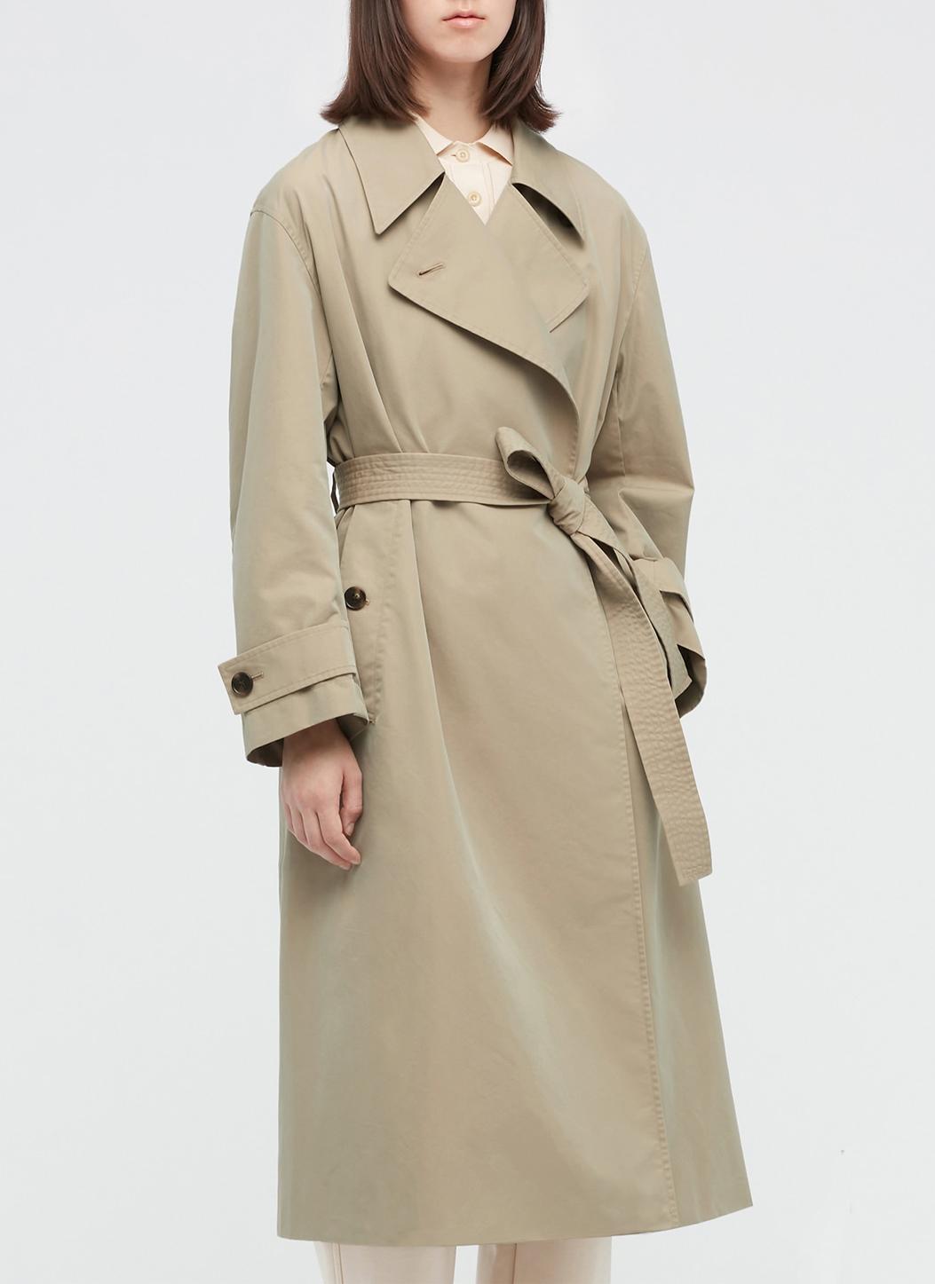 uniqlo trench coat women