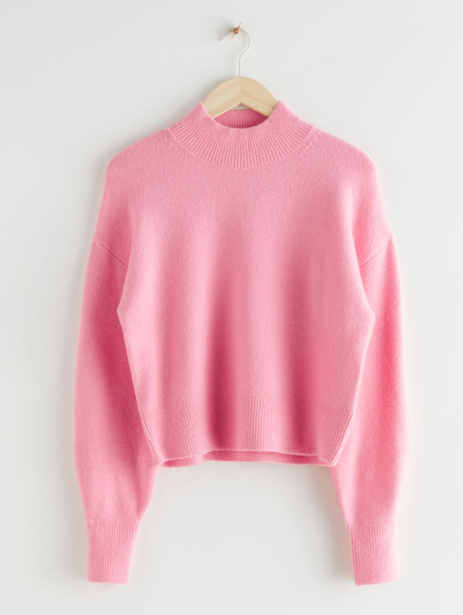 pink jumper &otherstories