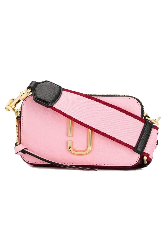 marc jacobs pink camera bag