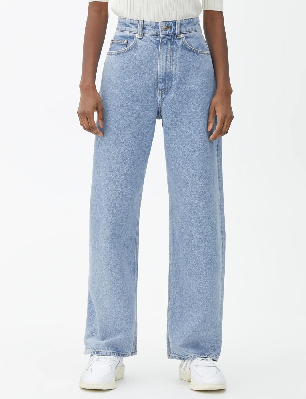 arket wide leg jeans
