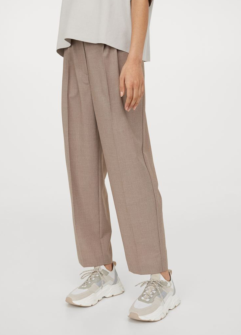 work trousers woman h&M