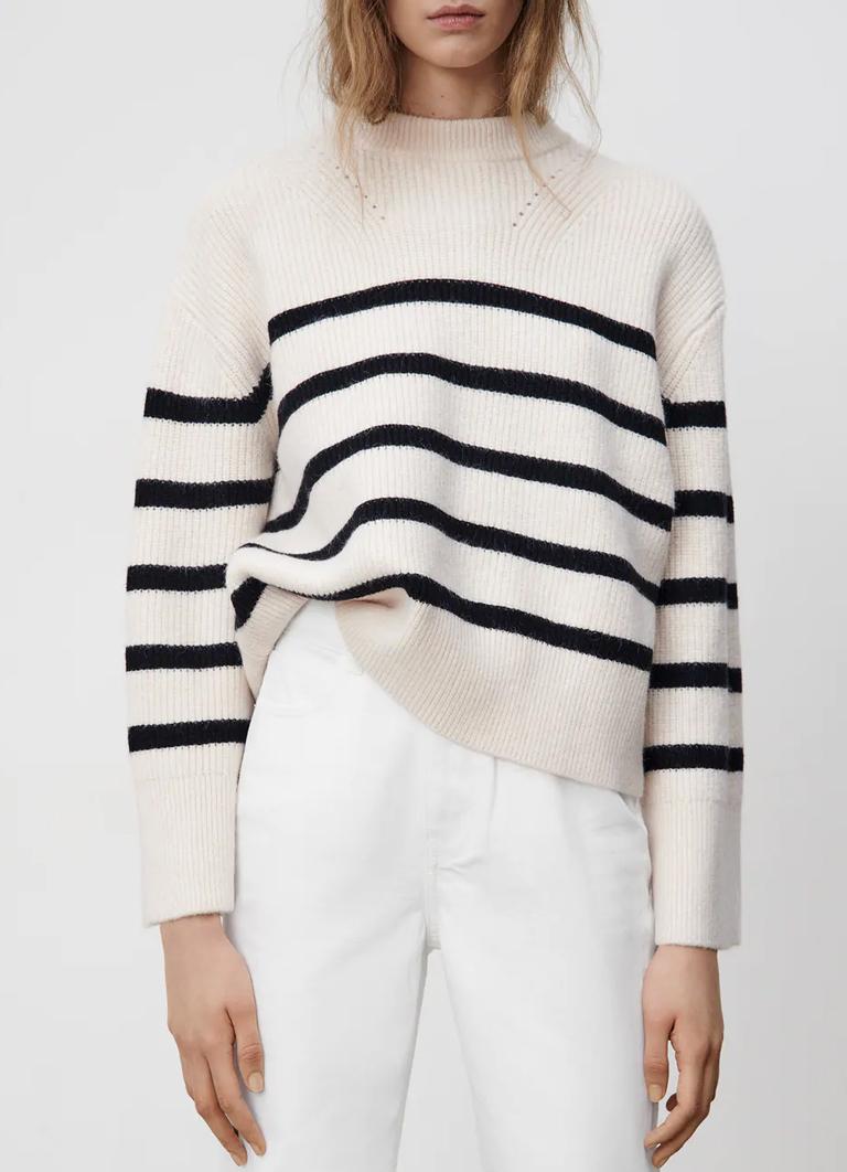 striped jumper zara 2021