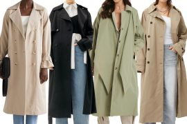best trench coats for women 2021