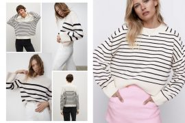 top striped jumper to wear in spring 2021