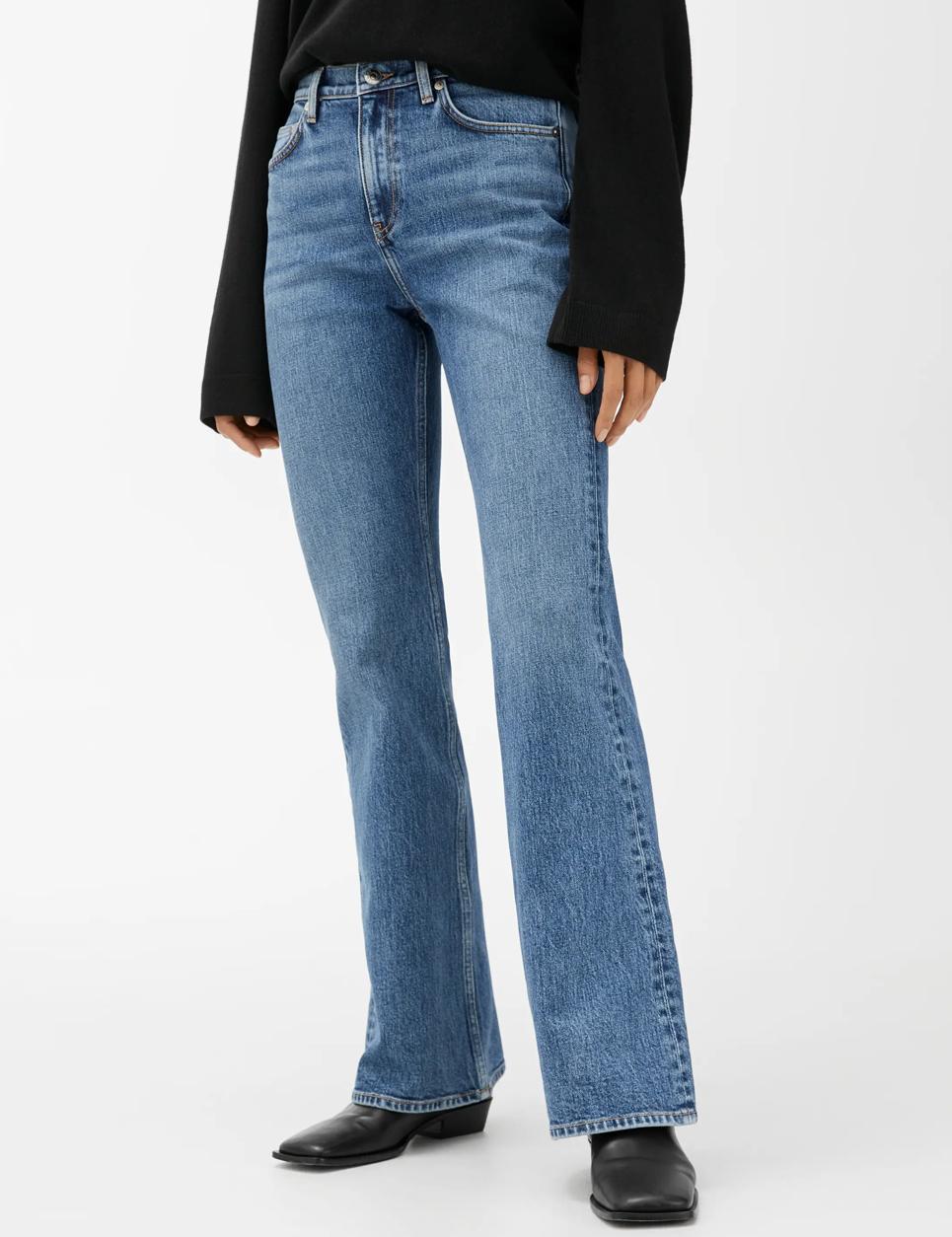 flare jeans arket