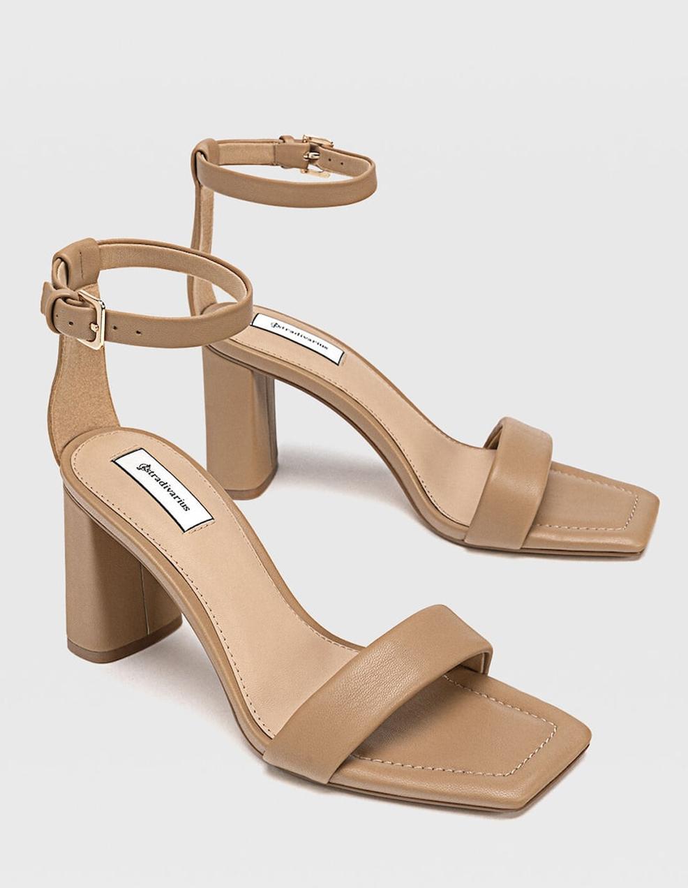 beige heeled sandlas summer 2021