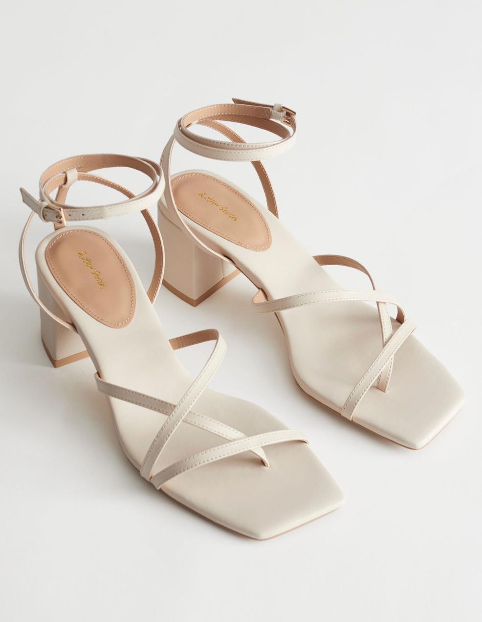 beige heeled sandals 2021