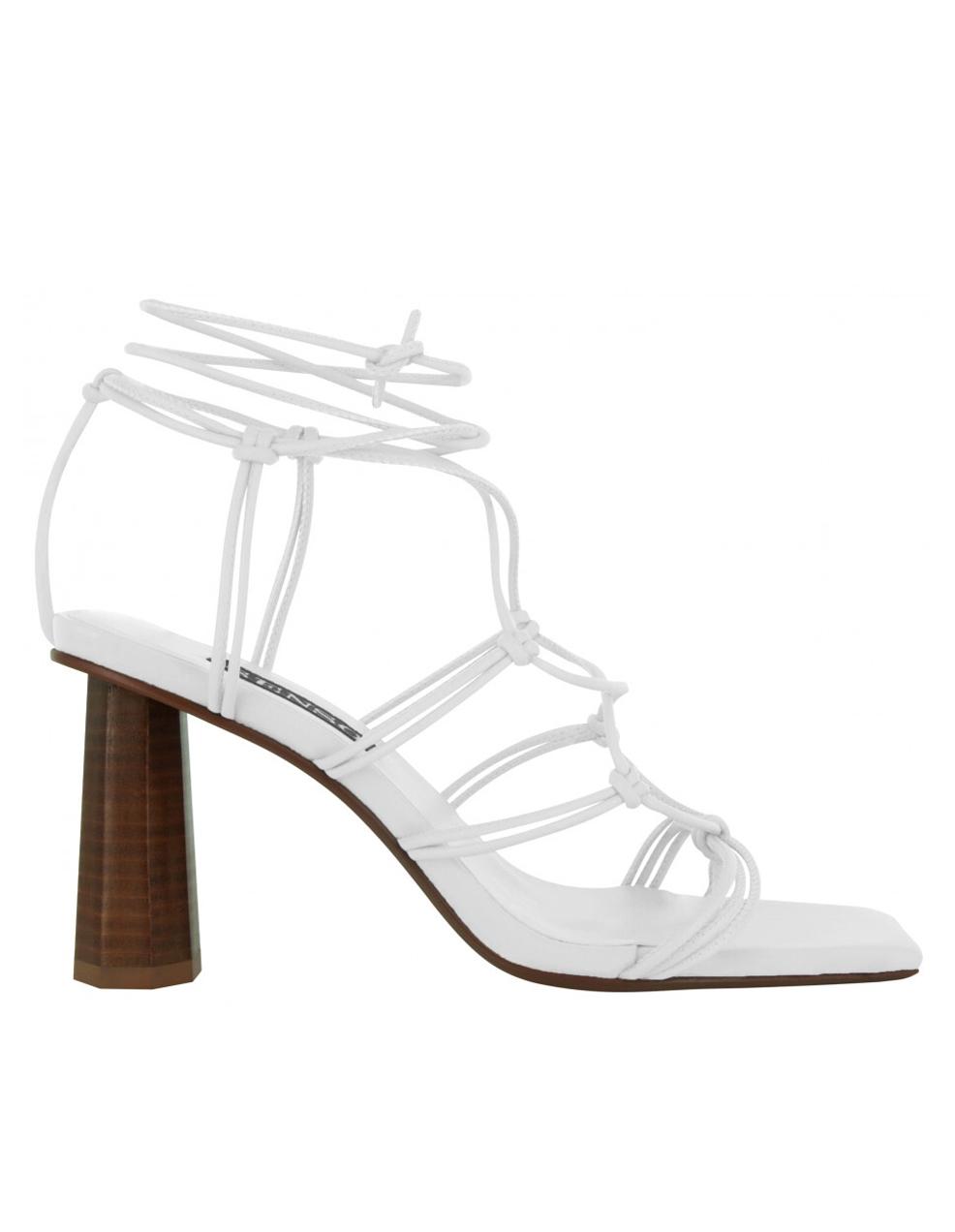 senso white sandals