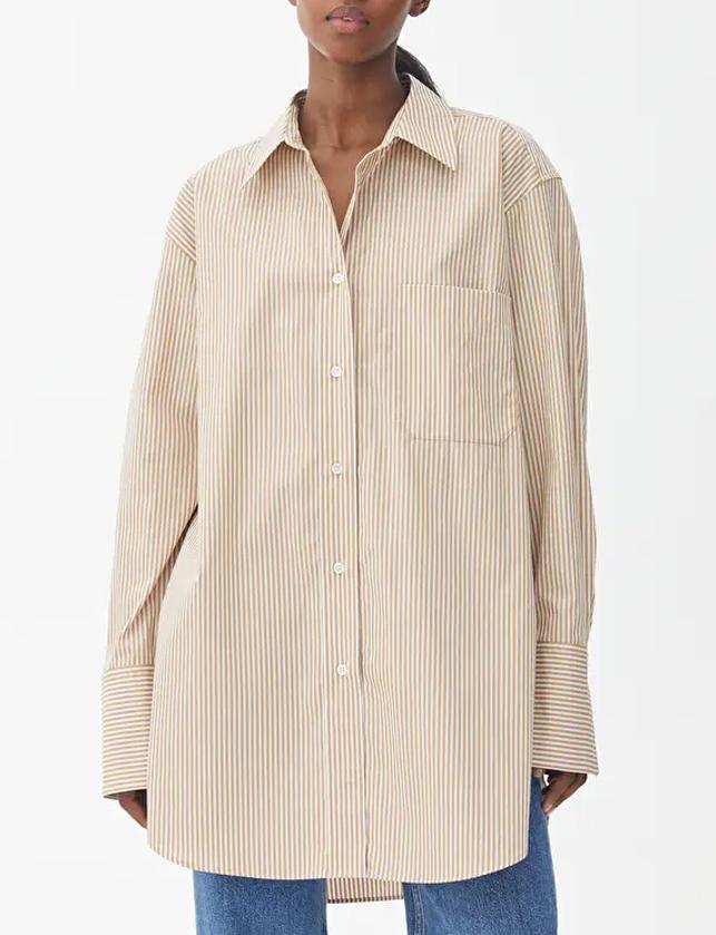 arket poplin shirt