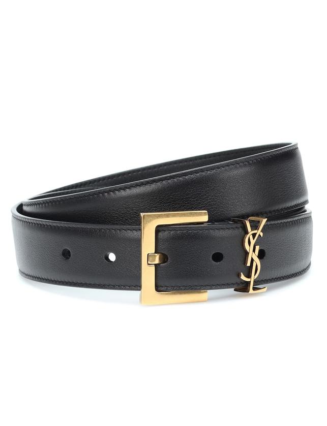 saint laurent monogram belt